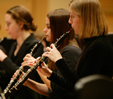 Oboe Players Performing